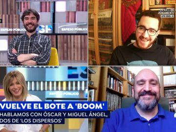 """'Los dispersos', motivados a ganar en los nuevos programas de '¡Boom!': """"No vamos a dejar de responder a una pregunta por engordar el bote"""""""