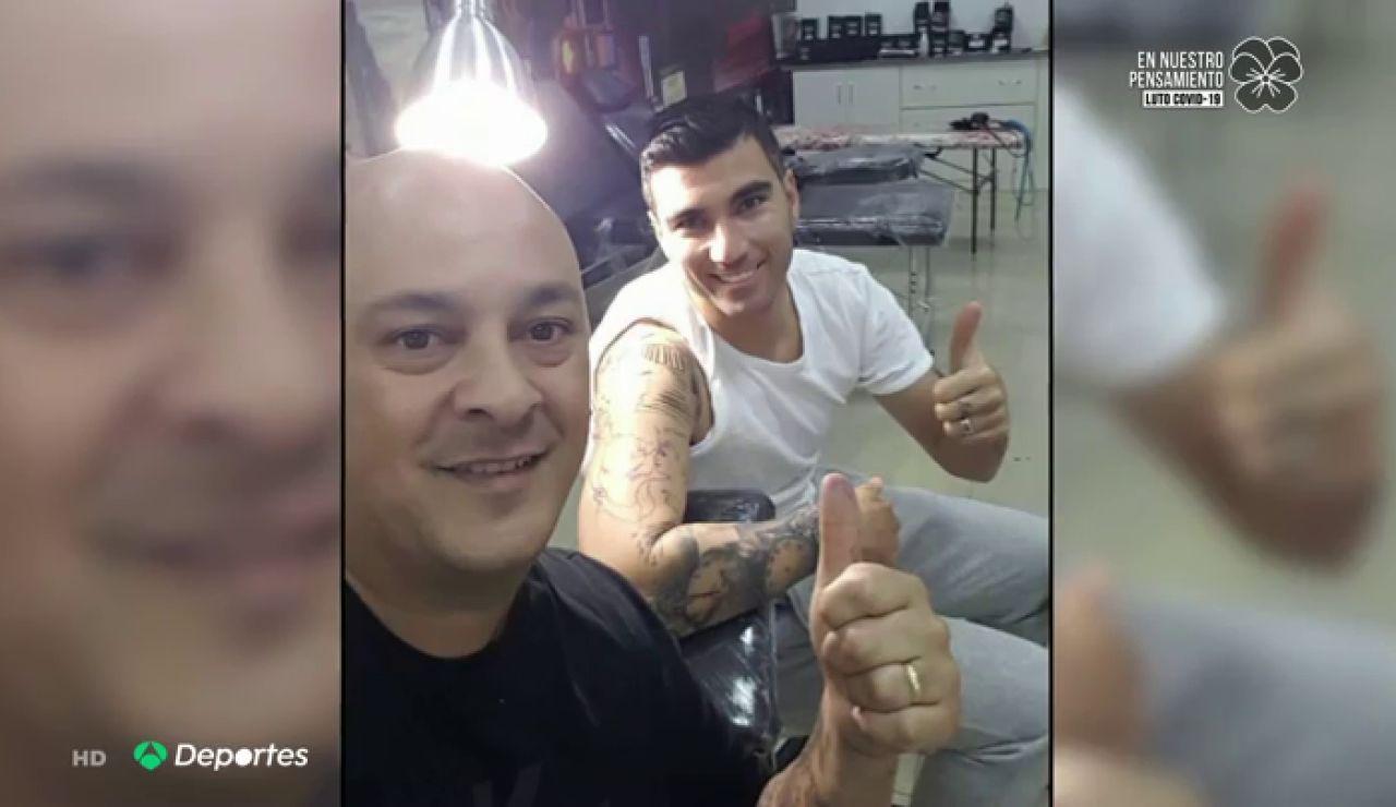 """Diego Fernández, tatuador de José Antonio Reyes: """"Tenía una risa muy diferente a todos los demás"""""""