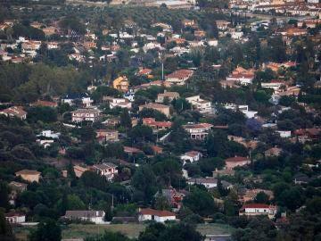 Vista general del Brillante, zona residencial de Córdoba donde tuvo lugar la fiesta privada