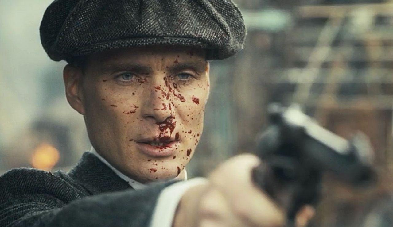 Cillian Murphy como Tommy Shelby en 'Peaky Blinders'