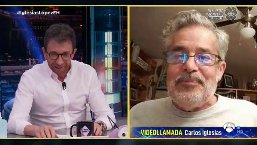 Carlos Iglesias revela que intentaron alquilar uno de sus perros durante el confinamiento