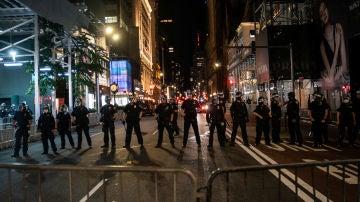Detienen a la hija del alcalde de Nueva York por formar parte de las protestas por la muerte de George Floyd