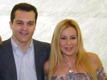 Ramón García y Ana Obregón