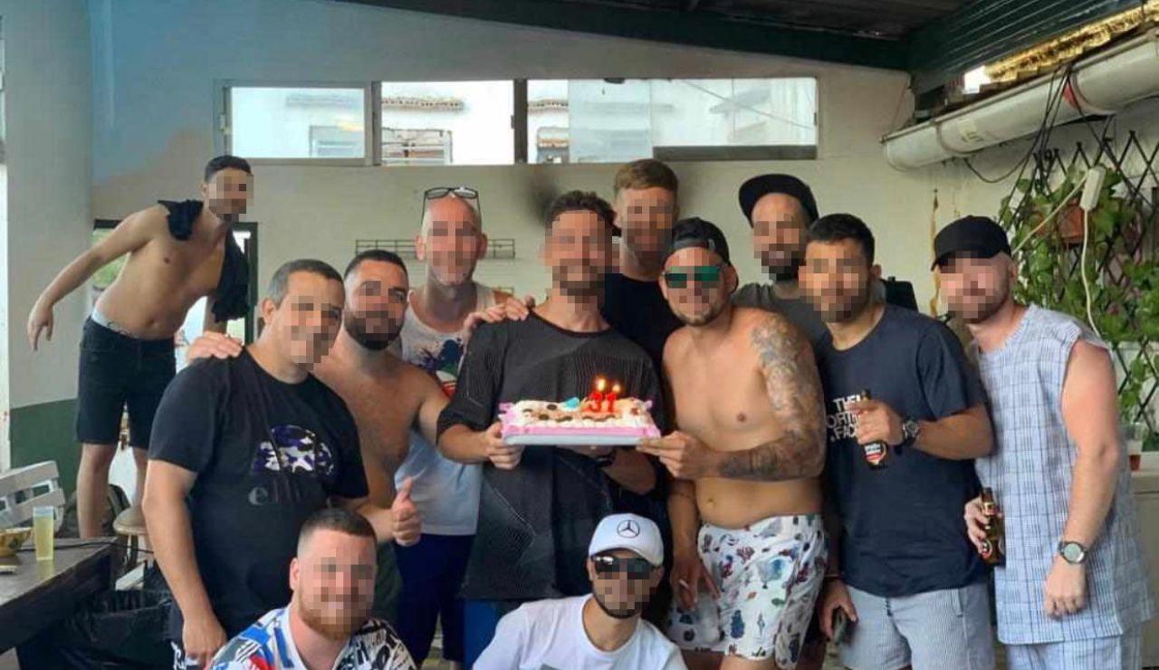 Fiesta de cumpleaños en Ceuta