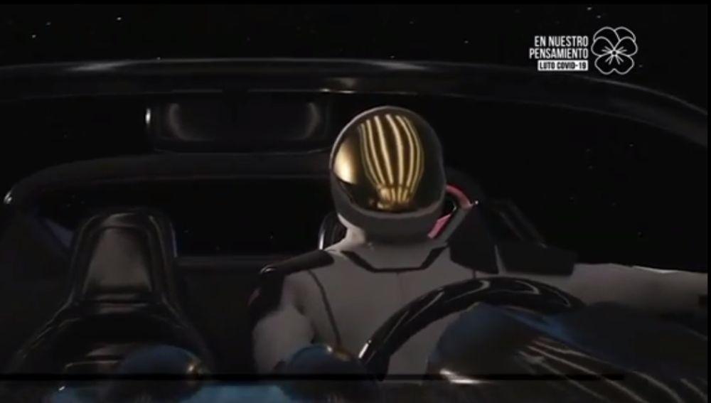 Simulación de un viaje al espacio