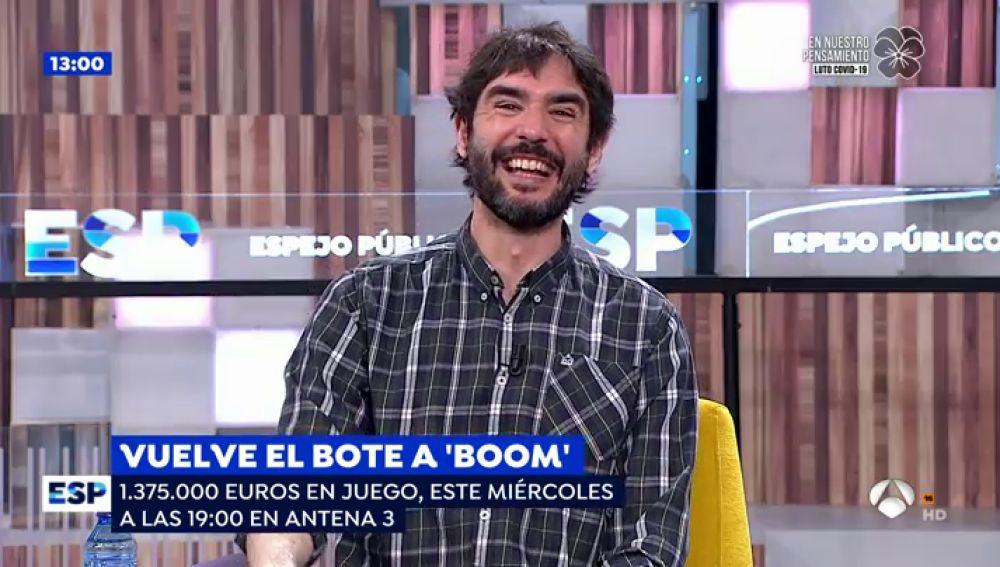 """Juanra Bonet y 'Los dispersos' adelantan la mecánica de los nuevos programas de '¡Boom!': """"El plató no es el mismo"""""""