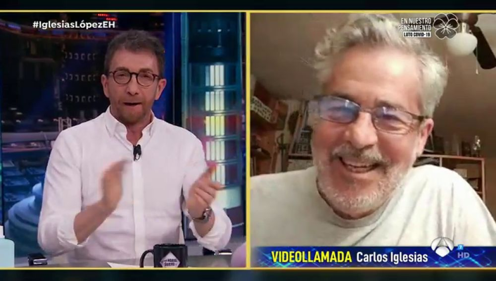 Disfruta de la entrevista completa a Carlos Iglesias en 'El Hormiguero 3.0'