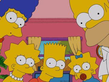 La familia de 'Los Simpson'