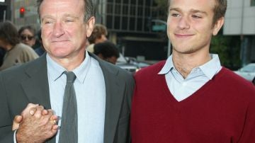 Robin Williams y su hijo Zak Williams