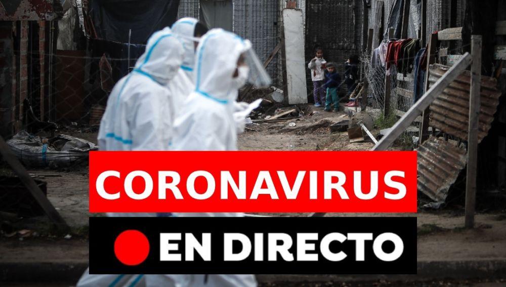 Coronavirus España hoy: Nuevos casos, muertos y noticias de última hora, en directo   Última hora coronavirus