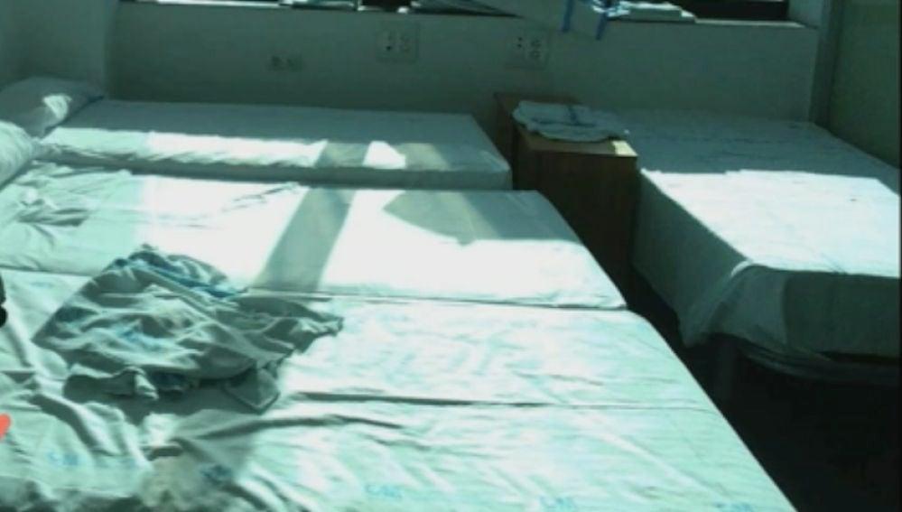 Las camas en las que descansan los residentes
