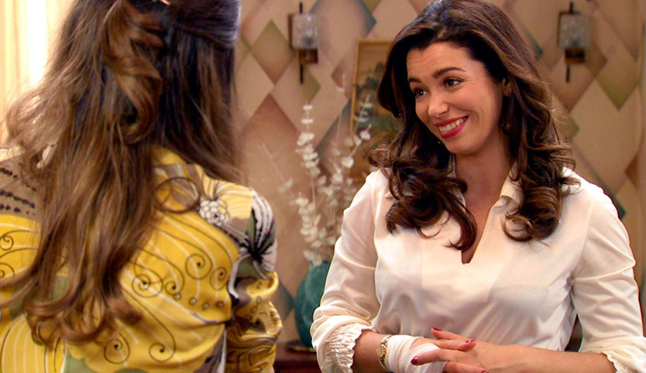Luisita y Amelia celebran su reconciliación con sus seres queridos