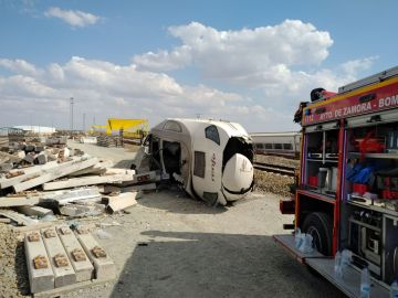 Accidente tren Alvia en Zamora