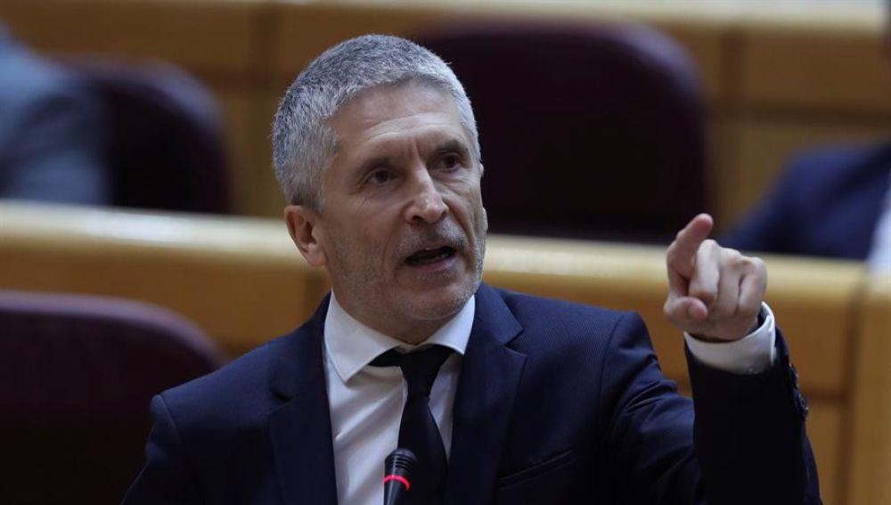 Así negó Fernando Grande-Marlaska en el Senado lo que ahora ...
