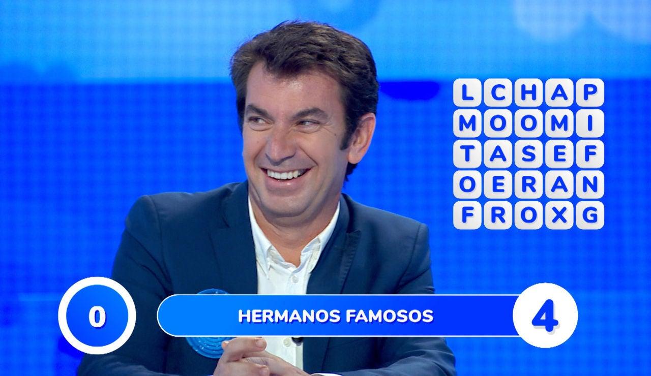 Arturo Valls desata las risas con sus hilarantes ocurrencias en la 'Sopa de Letras'
