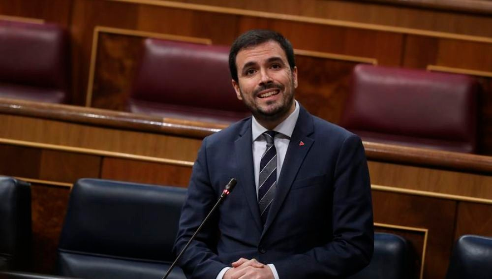 Alberto Garzón contento con Ciudadanos