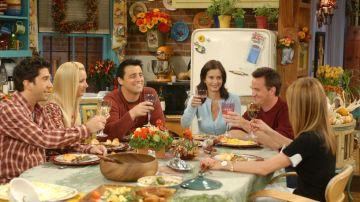 'Friends' en Acción de Gracias