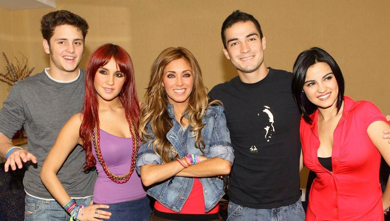 Los protagonistas de 'Rebelde' (RBD)