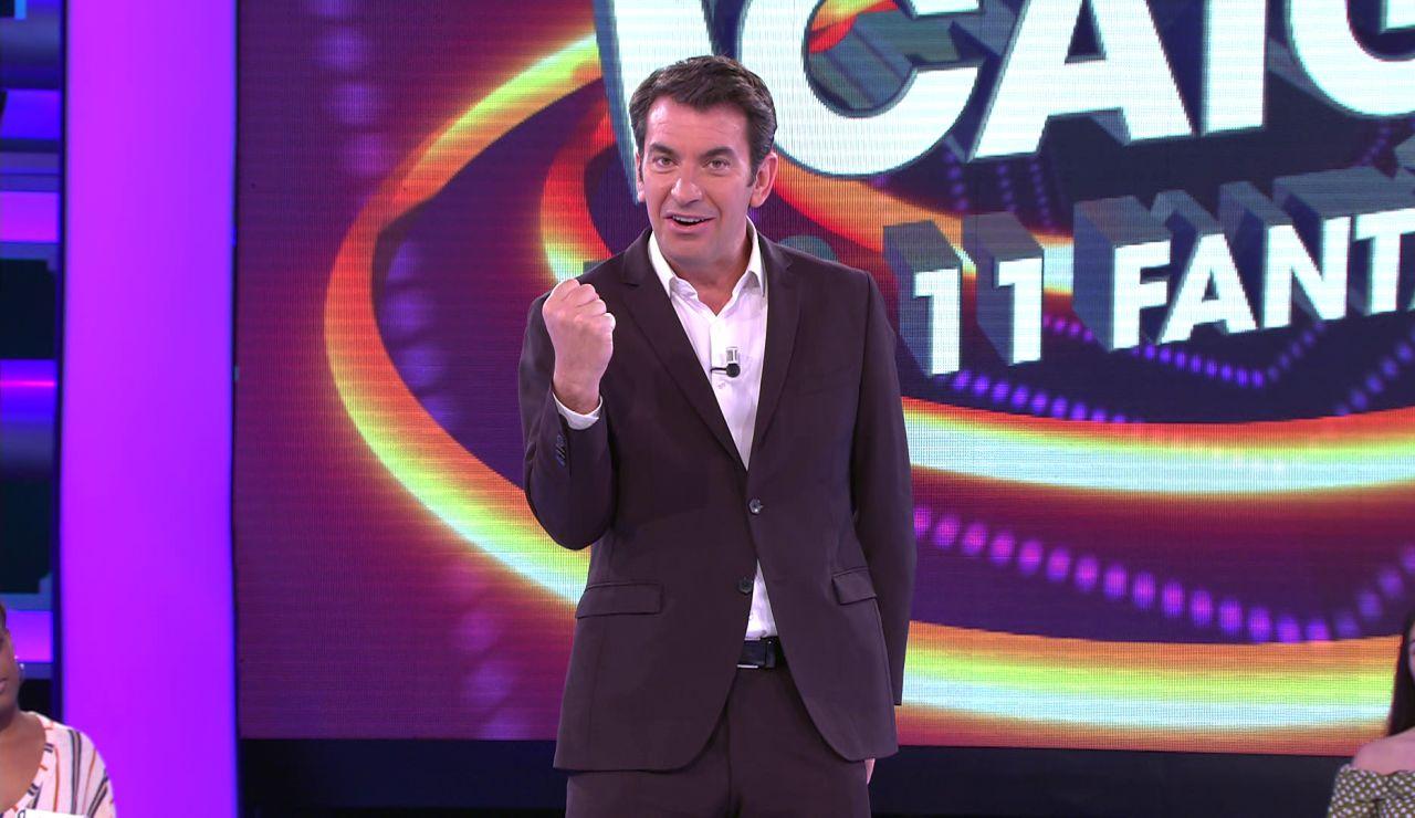 Arturo Valls desvela el nuevo gran premio de '¡Ahora caigo!'