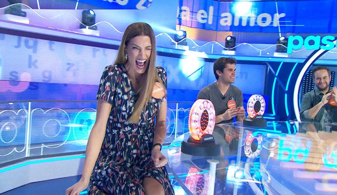 La mentira de Laura Sánchez para ganar a Natalia Rodríguez en 'La Pista'