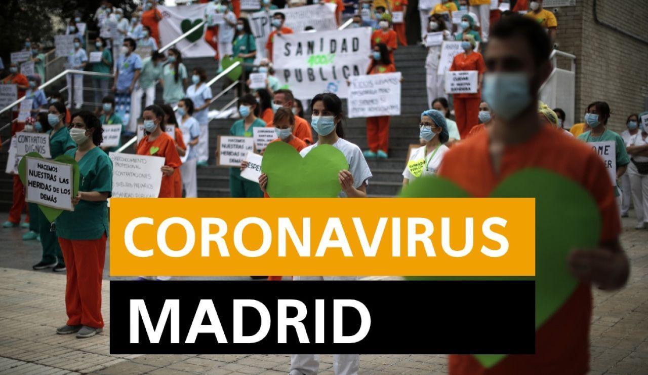 Última hora Madrid: Últimas noticias del coronavirus en Madrid y datos de muertos y contagios hoy, miércoles 3 de junio, en directo