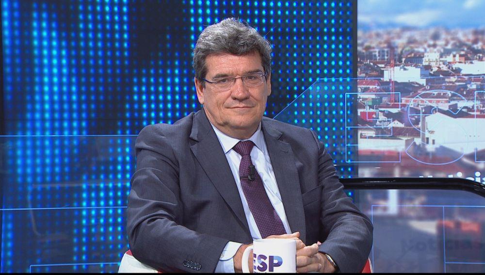 El ministro de Seguridad Social, Inclusión y Migraciones, José Luis Escrivá, en Espejo Público
