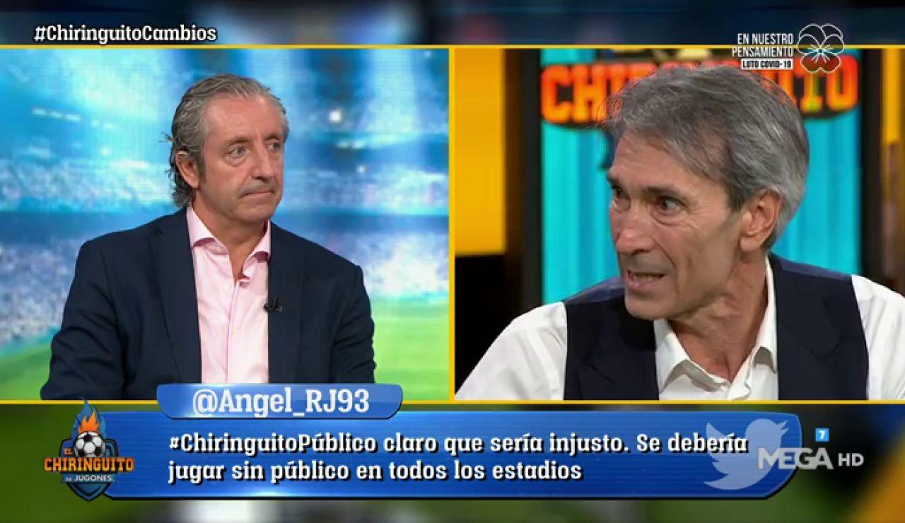 """Lobo Carrasco: """"Hay que salir a ganar con 5 o 7 cambios"""""""