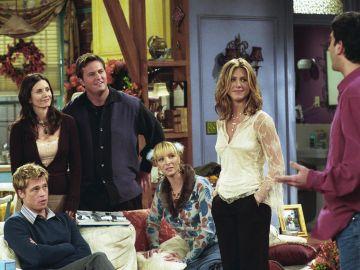 El cameo de Brad Pitt en 'Friends'
