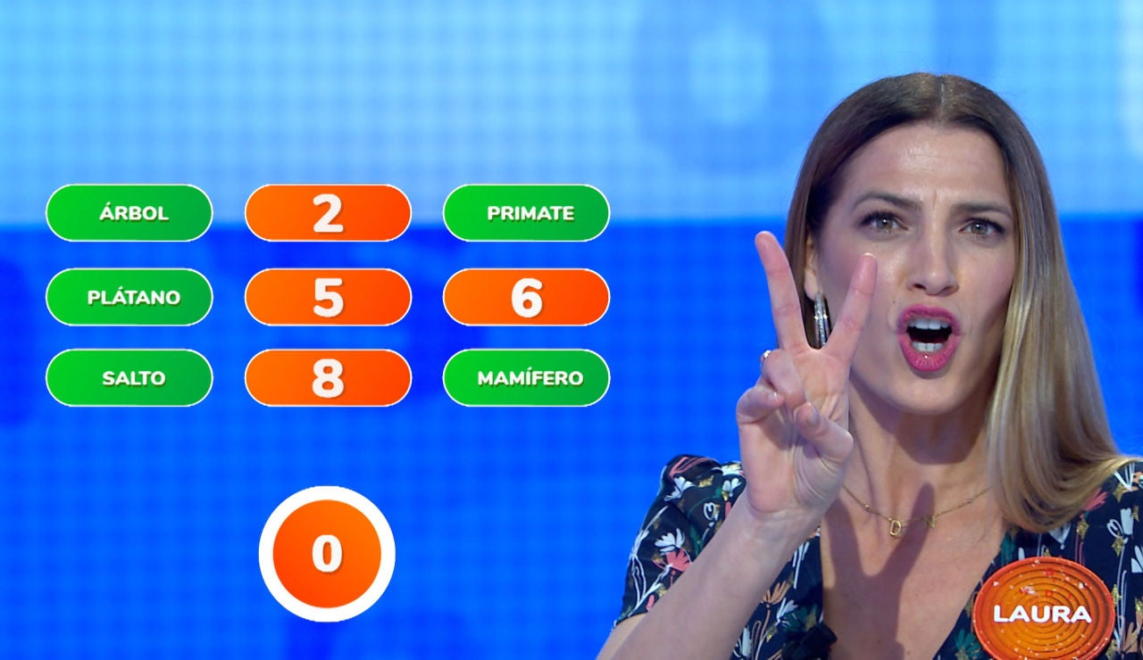 ¡Qué monada! Laura Sánchez reclama un acierto más para ayudar a Nacho con 'El Rosco'