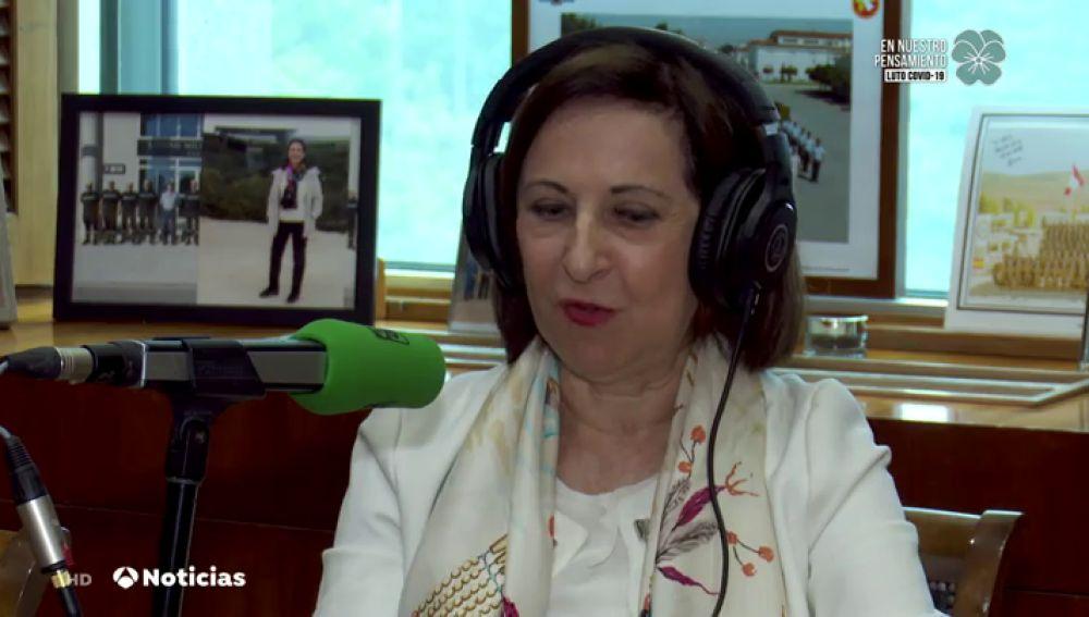 """Margarita Robles sobre el nombramiento de un amigo de Pedro Sánchez: """"Todos tenemos amigos y no es un demérito"""""""