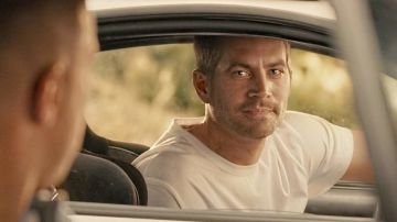 Paul Walker en 'Fast and Furious 7'