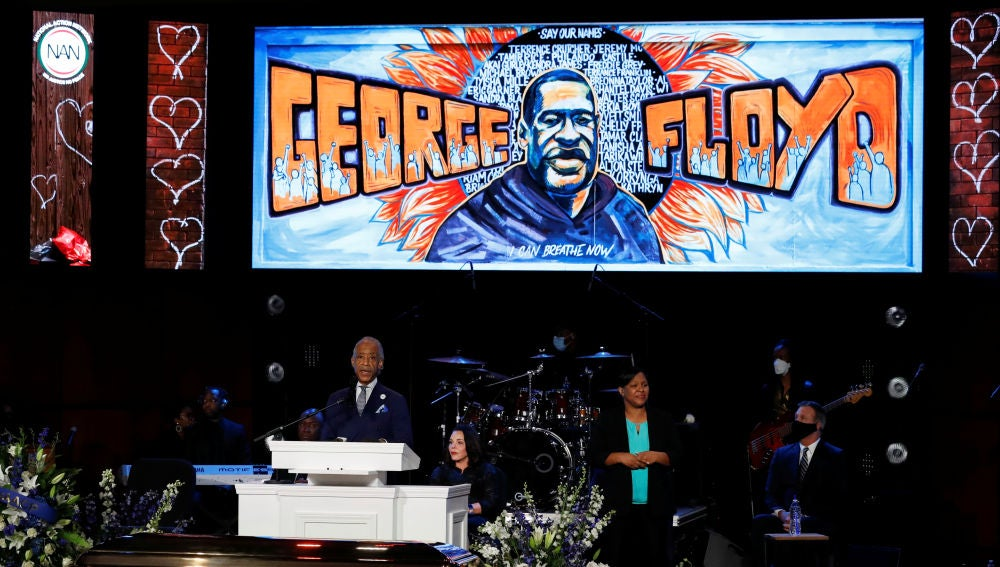 Funeral de George Floyd, en Mineápolis