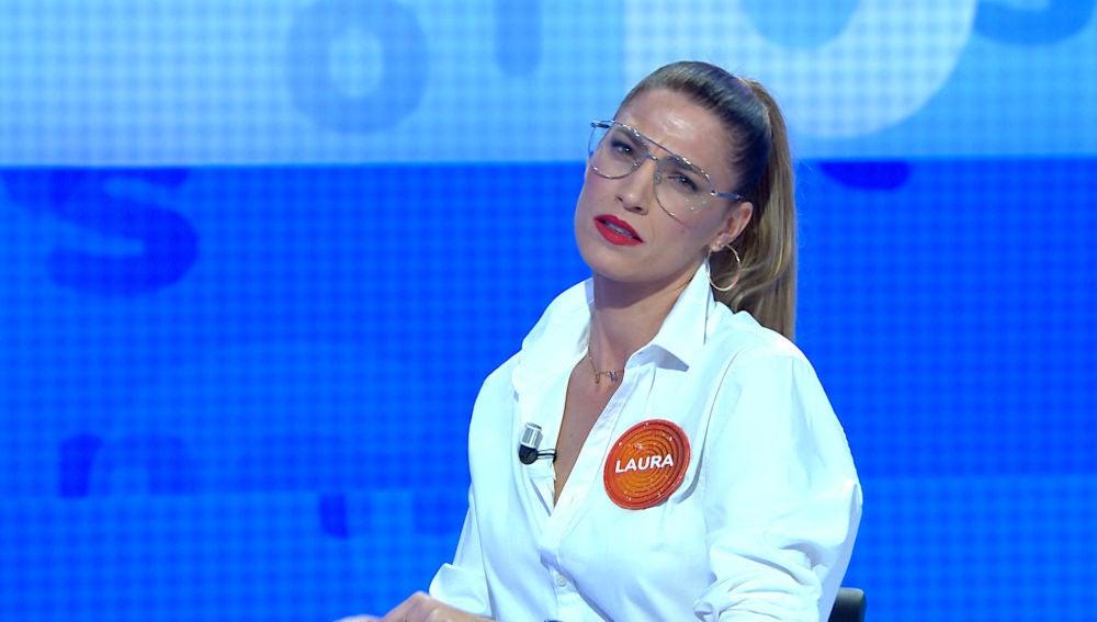 """Laura Sánchez, pura sensualidad con su ritual en 'Pasapalabra': """"Es tu momento, márcalo bien"""""""
