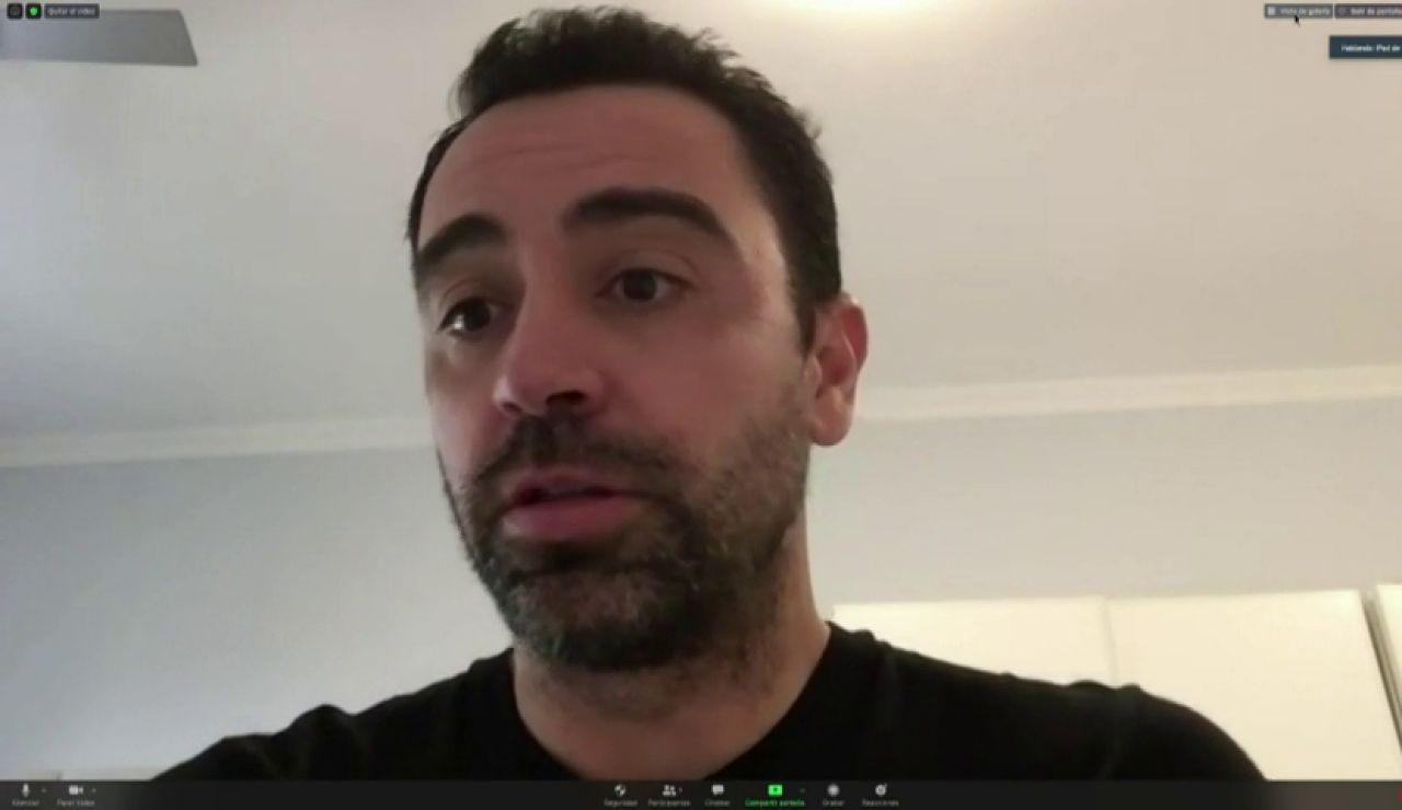 """Xavi Hernández: """"Mi staff técnico se prepara para entrenar al Barcelona"""""""