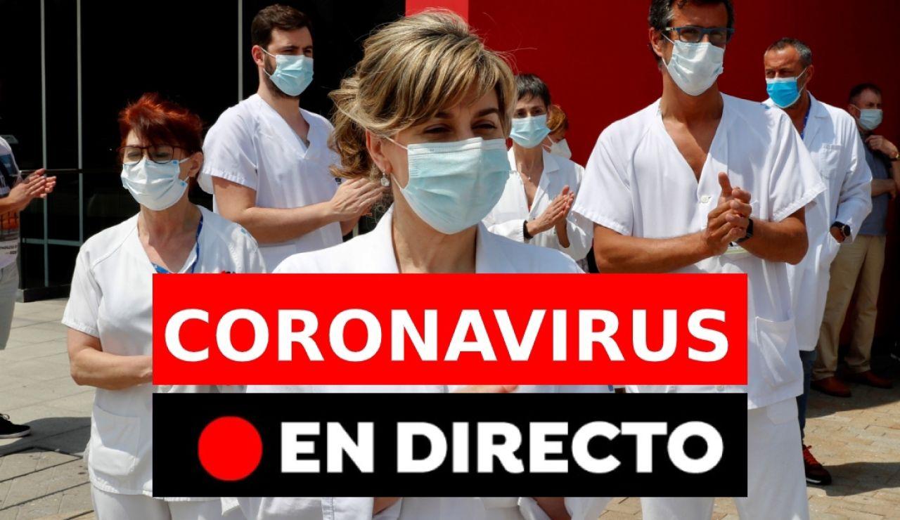 Coronavirus España: Noticias de última hora del coronavirus, casos, muertos y desescalada hoy, jueves 4 de junio, en directo