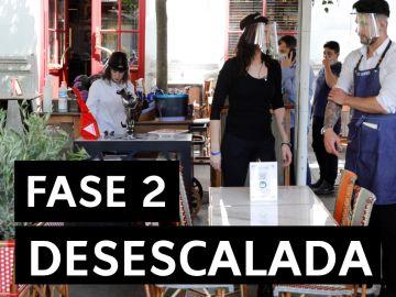 Fase 2: ¿Qué se puede hacer en la fase 2 de la desescalada del coronavirus en España?