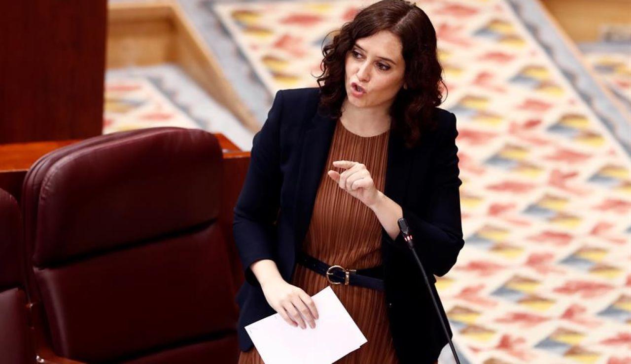 Isabel Díaz Ayuso anuncia vuelta al cole