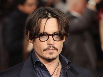 Johnny Depp en la premiere europea de 'Diarios del Ron'