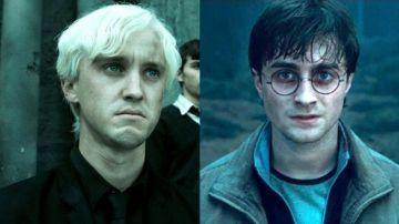 Draco Malfoy y Harry Potter en 'Las Reliquias de la Muerte'