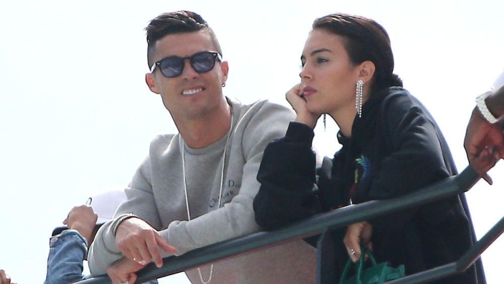 Cristiano Ronaldo y Georgina Rodríguez