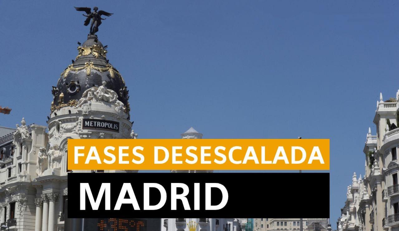 Última hora Madrid: Cambio a la fase 2 de la desescalda, datos del coronavirus y últimas noticias de hoy viernes 5 de junio, en directo