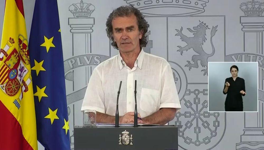 """Fernando Simón, sobre el desfase de datos: """"No creo que sea sensato pregonar que los 43.000 fallecidos sean por coronavirus"""""""