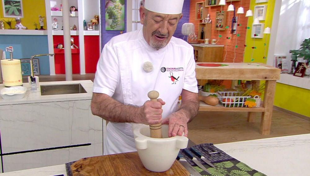 El majado más sabroso de Karlos Arguiñano que marcará la diferencia en tus platos
