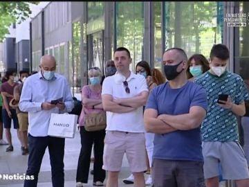Madrid, Barcelona y Castila y León entran con ganas de compras en la fase 2 de desescalada