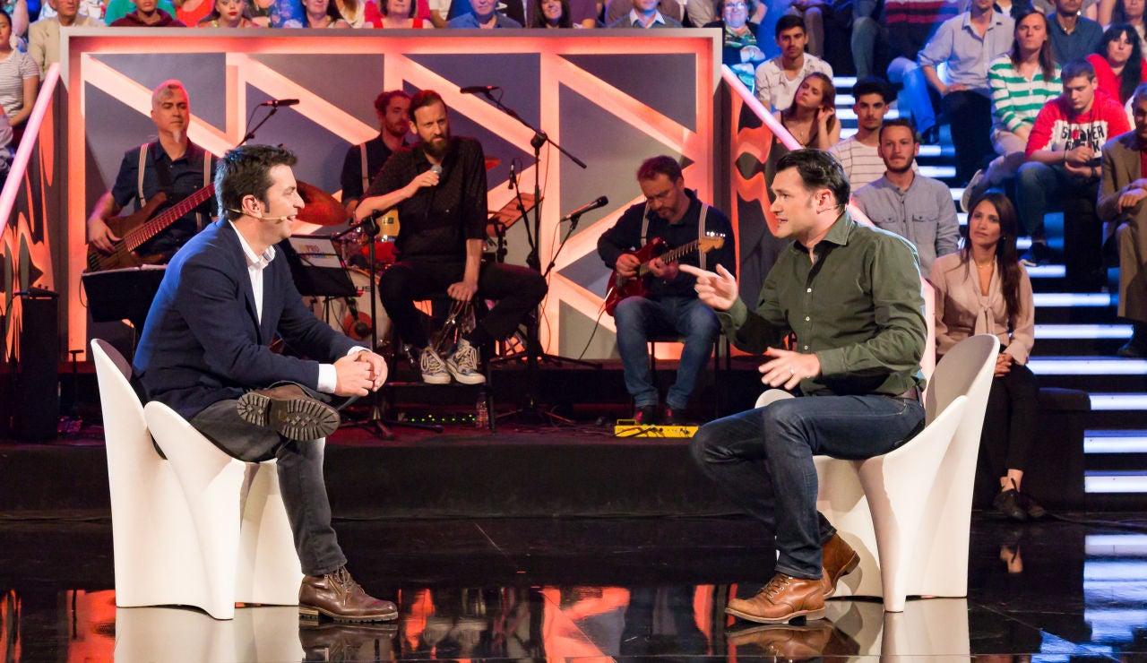 El periodista Iñaki López en 'Improvisando'