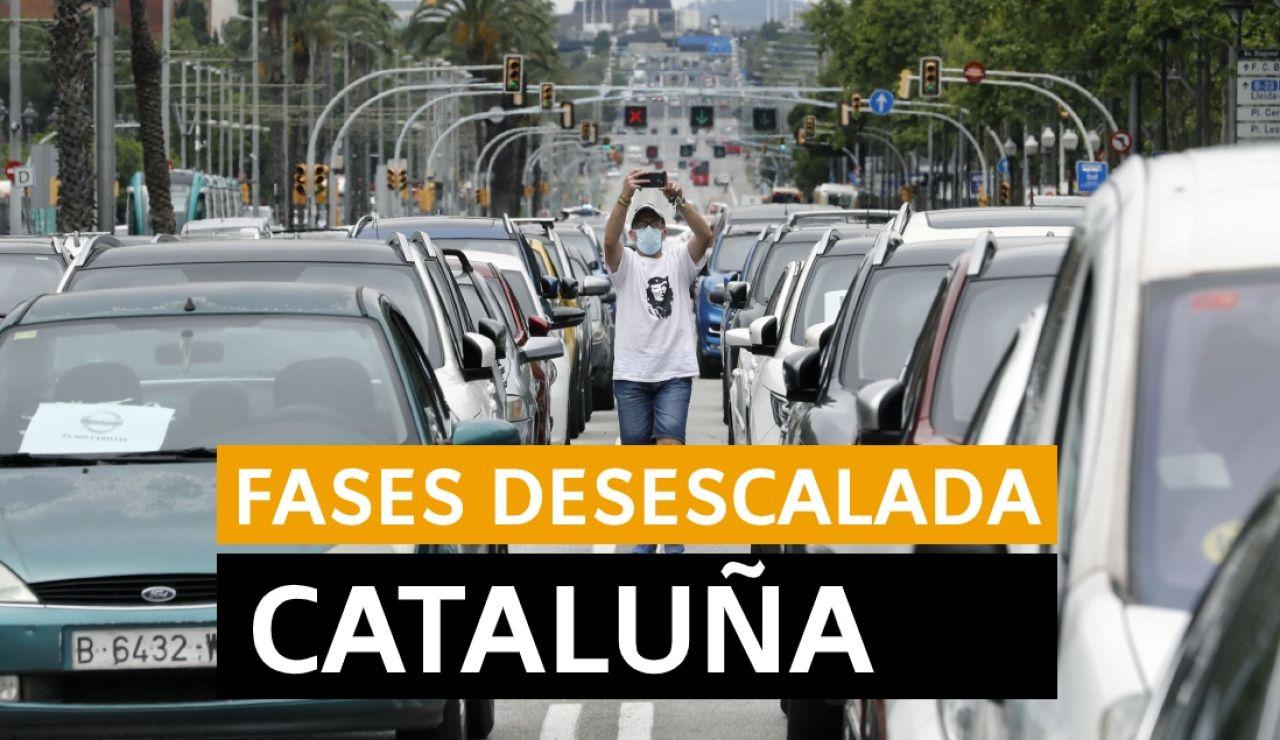 Última hora Cataluña: Cambio a la fase 2 y fase 3 de la desescalda, datos del coronavirus y últimas noticias de hoy viernes 5 de junio, en directo