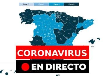 Coronavirus: Última hora del coronavirus en España, datos, muertos y noticias, en directo