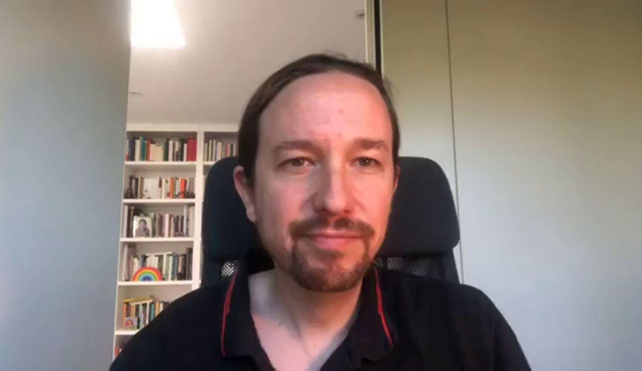 """Pablo Iglesias acusa a """"la derecha del berrinche y la cacerola"""" de intentar influir en poderes del Estado"""