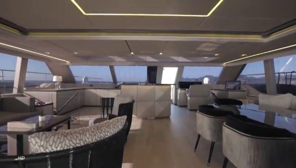 Las primeras imégenes del nuevo catamarán de Rafa Nadal valorado en 5,5 millones de euros