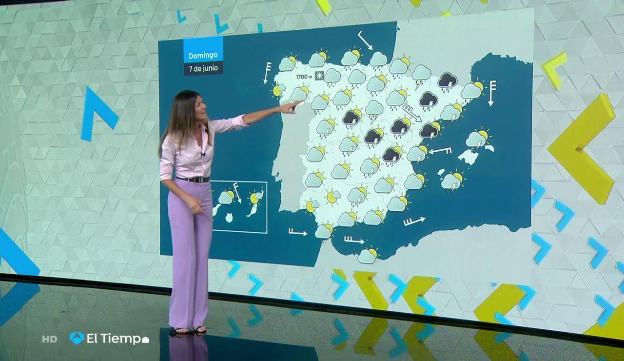 Tu Tiempo (06-06-20) Tormentas fuertes en el Pirineo oriental, Cataluña y Sistema Ibérico